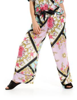 Floral Tile Wide Leg Pj Pant by Peter Alexander