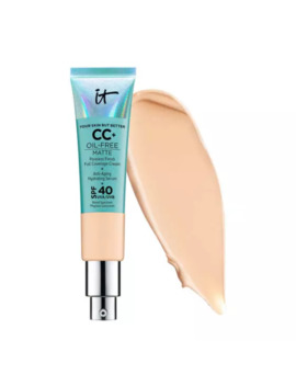It Cosmetics Your Skin But Better Cc+ Cream Oil Free Matte Light by It Cosmetics