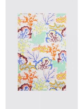 Floral Coral T/Towel Set by Gorman