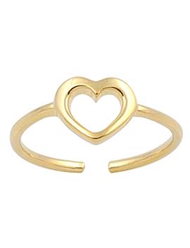 Heart Midi Ring by Bohomoon