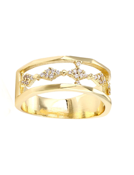 Himilaya Cz Ring by Bohomoon