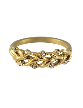 Louise Cz Ring by Bohomoon