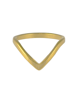 Nara Wishbone Ring by Bohomoon