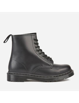 Dr. Martens 1460 Mono Smooth Leather 8 Eye Boots   Black by Dr. Martens