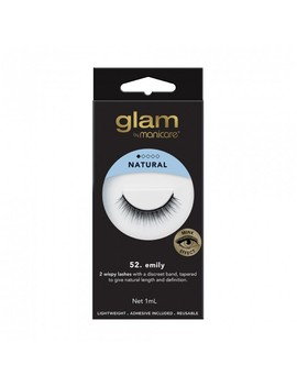 52. Emily Mink Effect Lashes 1 Pair by Glam By Manicare