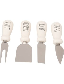 Rae Dunn Cheese Knife Set   4 Piece by Rae Dunn