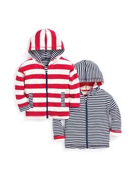 Kids' Stripe Reversible Hoodie by Jo Jo Maman Bebe