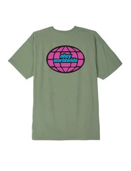 Obey Global Worldwide Basic Tee by Obey