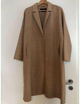 Zara Sehr Edler Mantel Wolle Handmade Beige Xl by Ebay Seller