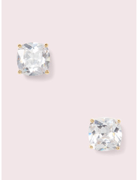 Mini Small Square Studs by Kate Spade