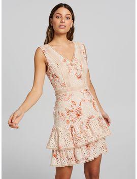 Leah Layered Trim Dress by Portmans