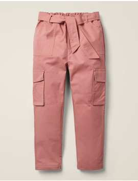 Cargo Trousers   Dusky Rose Pink by Boden