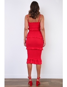 Dee Dress   Red by Stelly