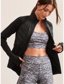 Gap Fit Quilted Detail Jacket by Gap