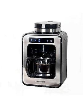 Lakeland Bean To Cup Coffee Machine Black by Lakeland