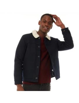 Farah Vintage Mens Dunkeld Collar Jacket True Blue by Farah Vintage