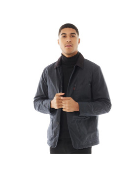 Levi's Mens Sherpa Engineers Coat Sky Captain by Levi's