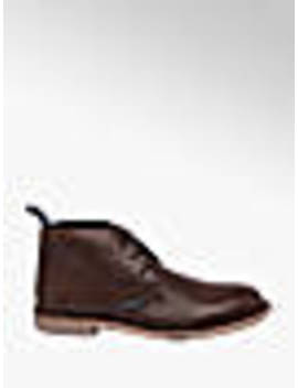 Mens Lambretta Carnaby Brown Lace Up Boots by Lambretta