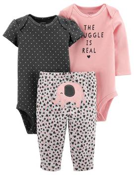 3 Piece Elephant Little Character Set by Carter's| Baby