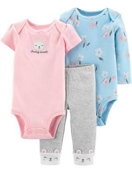 3 Piece Bear Little Character Set by Carter's| Baby