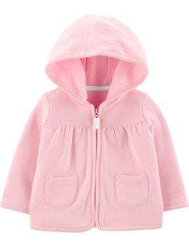 Zip Up Fleece Lined Cardigan by Carter's | Baby