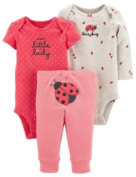 3 Piece Ladybug Little Character Set by Carter's | Baby