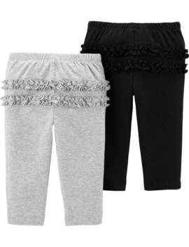 2 Pack Pull On Pants by Carter's| Baby