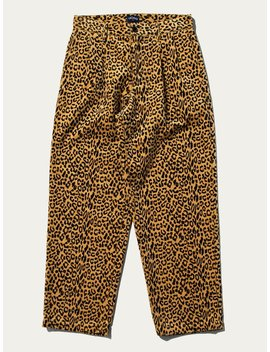 Double Pleat Corduroy Trousers by Noah