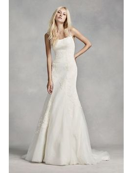 White By Vera Wang Low Back Wedding Dress by White By Vera Wang