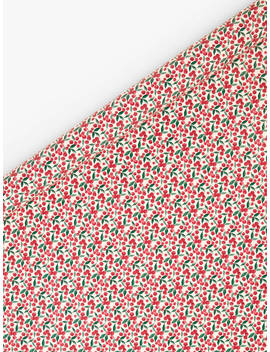 john-lewis-&-partners-traditions-ditsy-berry-gift-wrap,-multi,-10m by john-lewis-&-partners
