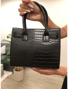 Maddie Bag (Black) by Laura's Boutique