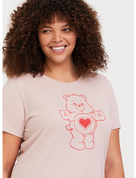care-bear-mauve-pink-crew-tee by torrid