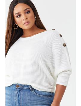 plus-size-knit-dolman-top by forever-21
