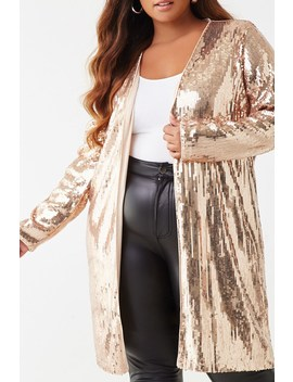 plus-size-sequin-cardigan by forever-21