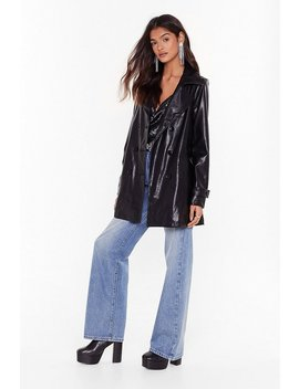were-leather-late-faux-leather-longline-jacket by nasty-gal