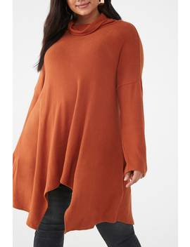 plus-size-turtleneck-top by forever-21