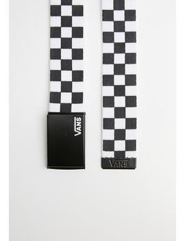 deppster-web-belt---black-&-white by vans