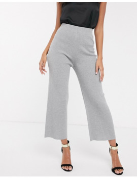 fashion-union-knitted-wide-leg-trousers by fashion-unions