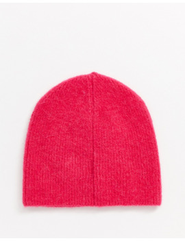 &-other-stories-ribbed-beanie-in-pink by &-other-stories