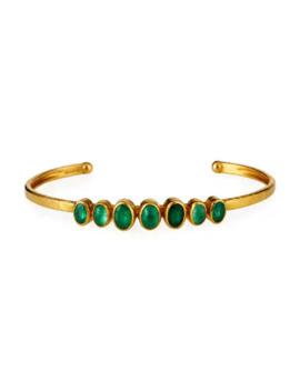 gurhan-amulet-hue-22k-emerald-cuff by gurhan