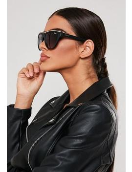 quay-australia-black-flight-risk-sunglasses by missguided