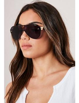 quay-australia-x-funboy-stay-afloat-black-sunglasses by missguided