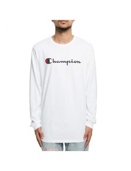 l_s-script-tee-white by champion
