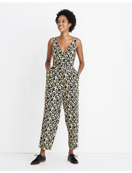 v-neck-sleeveless-jumpsuit-in-viola-floral by madewell