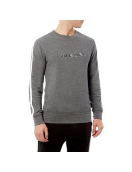 willy-logo-side-stripe-sweatshirt by diesel
