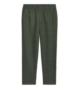 Wool Blend Trousers by Arket
