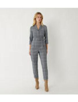 check-boiler-jumpsuit by warehouse