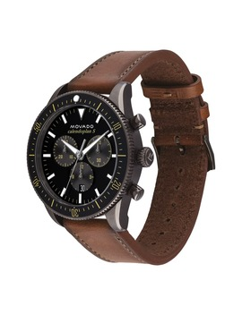 heritage-chrono-leather-strap-watch,-42mm by movado