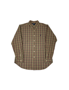 vintage-polo-ralph-lauren-fall-plaid-button-up-shirt by polo-ralph-lauren  ×  vintage  ×