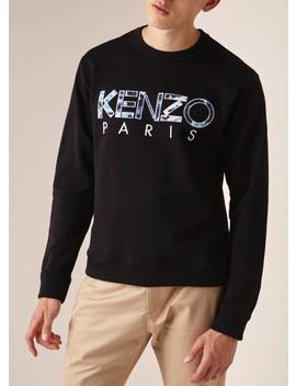sweater-met-logoborduring by kenzo